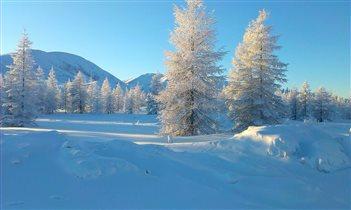 Колымская зима