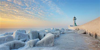 зима на Балтийском море
