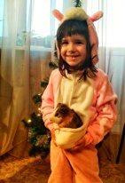 Василиса -  мама кенгуру.