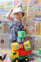 Моя девочка строитель!!!