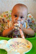 вкусно поели,теперь мыться)))