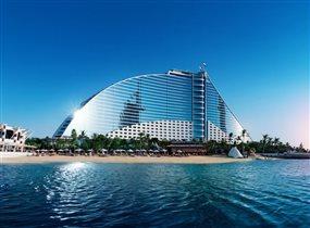 Дубай, Jumeirah Beach Hotel - открытие после реконструкции
