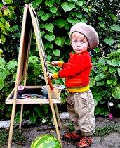 Гуляю и рисую!!!