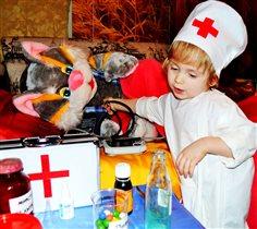 Юный доктор!