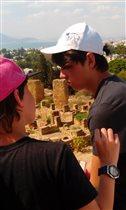 Тунис 2018 Мальчики у развалин Карфагена