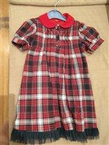 Платье Карамель на 110 см