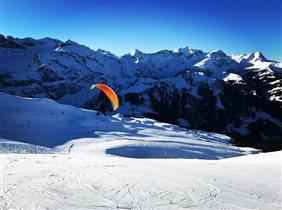 Самая длинная развлекательная зона катания в Швейцарии с гигантской улиткой