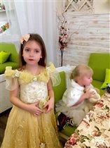 Принцессы Диана и Варвара собираются на бал!)