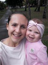 С мамой всегда весело)))
