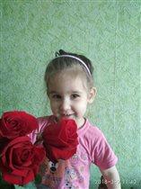 Надюша в розах