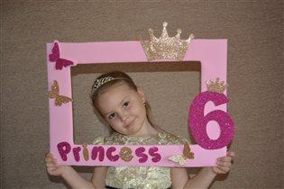 Маленькая принцесска))))
