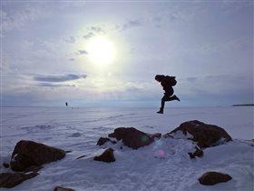 Прыжок в снежную бездну