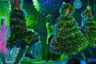 Интерактивное новогоднее представление «Новогодний Кураж»