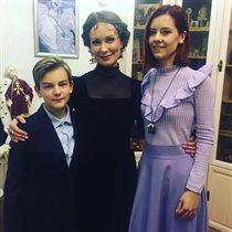 Нонна Гришаева с сыном и дочерью: 'Мама, спасибо, что ты не такая!'