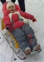 Ника любит зиму)