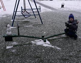 Снежный друг)