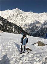 В Гималаях.