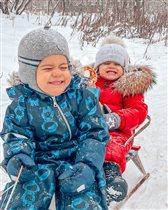 Как весело зимой!