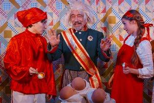 Детский спектакль 'Три Ивана'