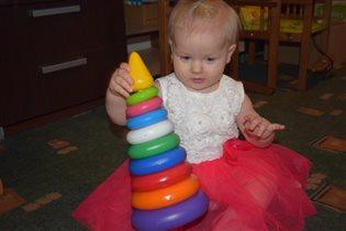 Первая игрушка на первый день рождения!