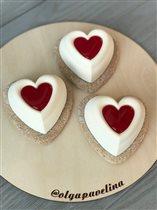 чизкейк на Валентинов день