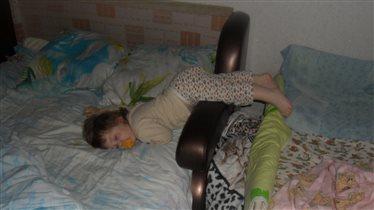 Уснула на ходу)))))