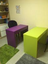 Два письменных стола без ящиков DANA