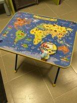 Столик складной Карта мира