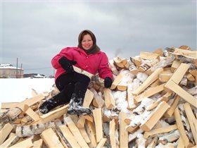 Душевность деревенской зимы