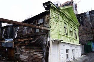 Образец контрастной архитектуры в Самаре