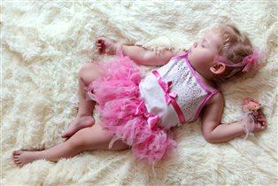 Во сне балерина