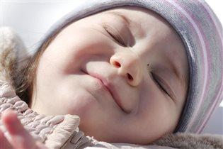 Улыбка во сне:)
