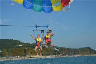 Драйв - это полёт на высоте семидесяти метров!