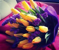 Букет весенних цветов!