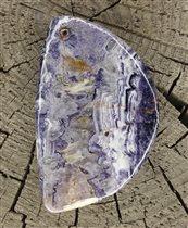 Инопланетная река, камень (флюорит)