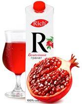 Новый сок Rich «Великолепный гранат»