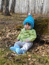 Василинкина первая весна!!!