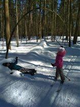 Конец марта. Закрываем лыжный сезон!