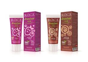 Новая зубная паста для детей и подростков R.O.C.S. «Junior»