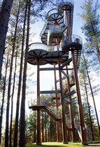 Башня обзора в Меркине у Друскининкай