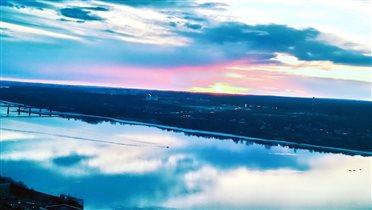 Весенние рассветы над рекой
