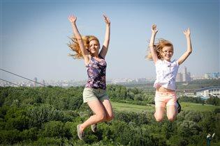Парим над горизонтом, наслаждаемся свежим ветром!