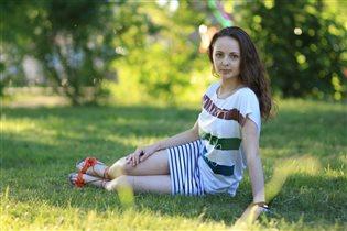 Тепло,солнце) ярко летом
