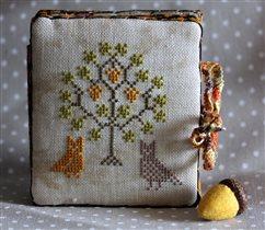 Совы под дубом - Owlforest Embroidery