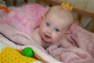 Принцесса на горошине))