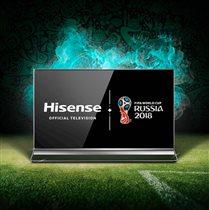 Премиальная техника Hisense – теперь и в России!