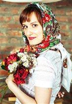 В стиле русской красавицы