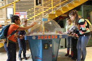 Каникулы в Музее советских игровых автоматов