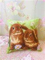 Vervaco PN-0162709 Two Rabbits
