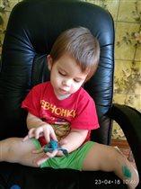Лучшие игрушки сделаны руками дедушки